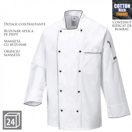 Jacheta de lucru bucatari PORTWEST Executive Chefs C776