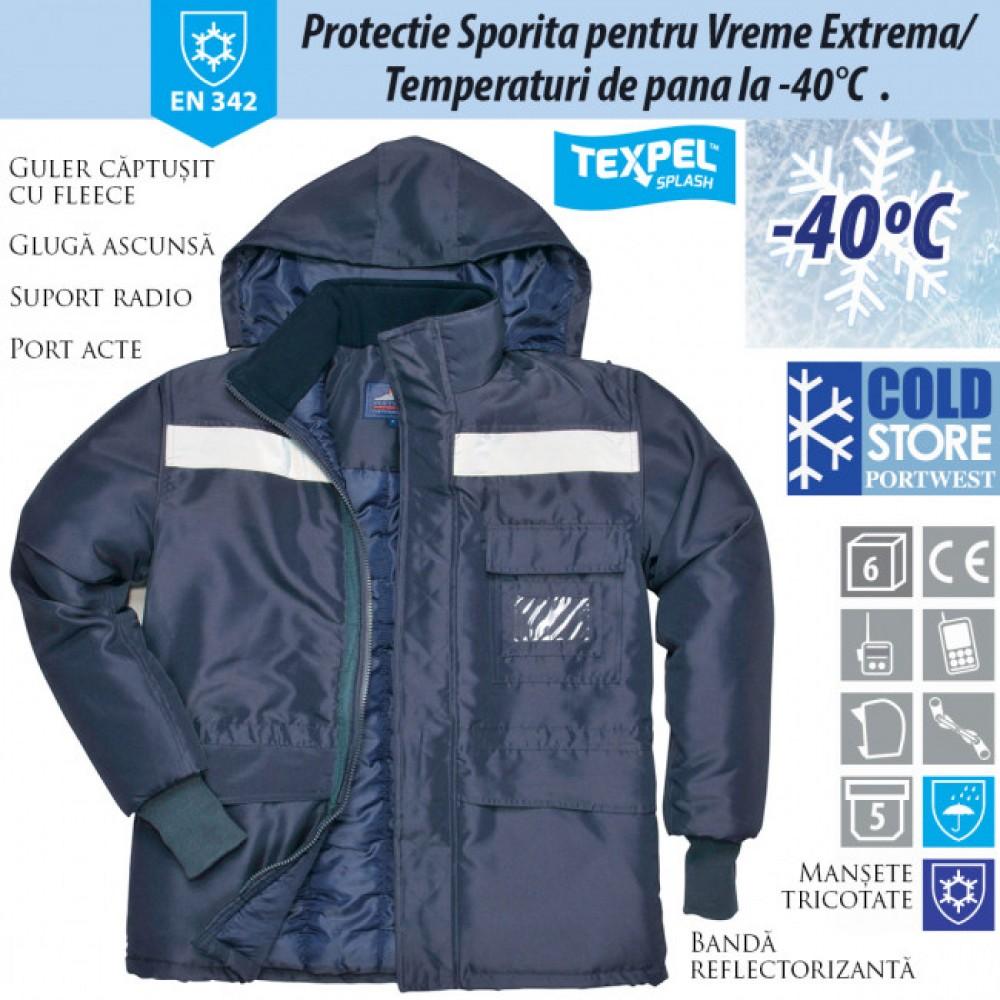 Jacheta pentru lucru la frig PORTWEST Coldstore CS10