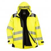 Jacheta de protectie impermeabila Hi Vis 3 in 1 Portwest PW365