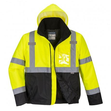 Jacheta de protectie PORTWEST Bomber Essential HI-VIS S363