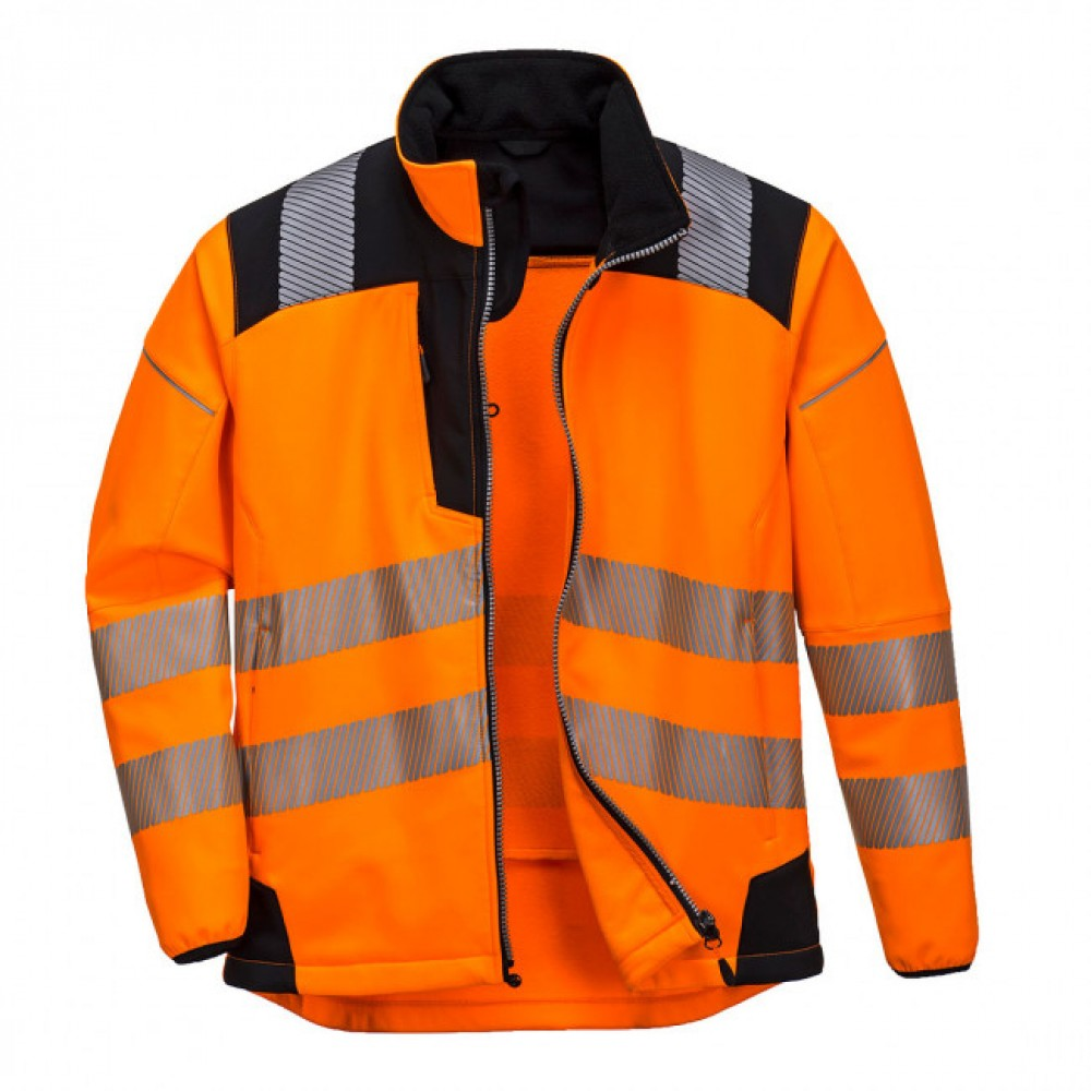 Jacheta de lucru PORTWEST HI-VIS Softshell T402