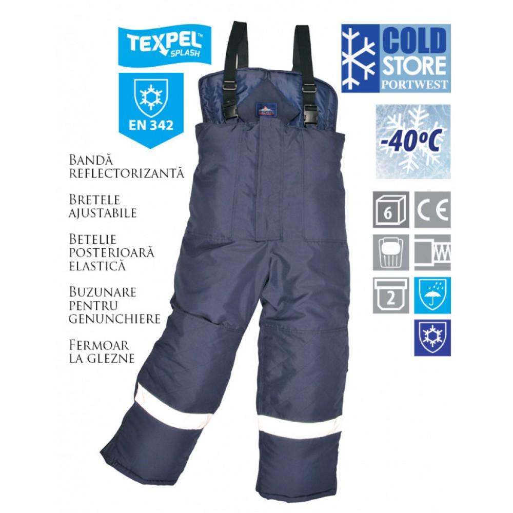 Pantaloni pentru lucru la frig PORTWEST Coldstore CS11