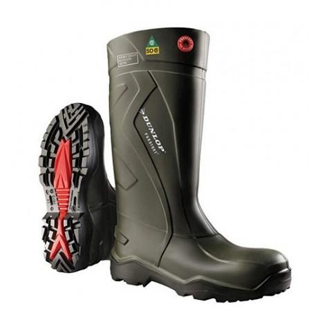 Cizme de protectie Dunlop Purofort Green O4 FO CI SRC
