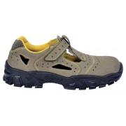 Sandale de protectie cu bombeu metalic Cofra New Brenta S1P