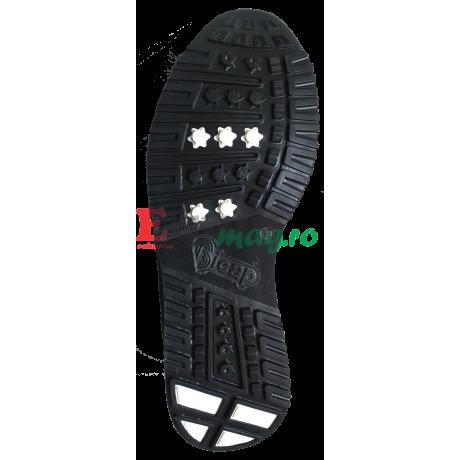 Pantofi de protectie tip sport Bicap Blu/Marrone
