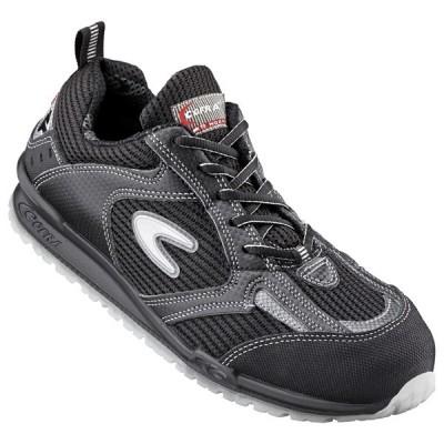 Pantofi de protectie cu bombeu aluminiu Cofra Petri S1P
