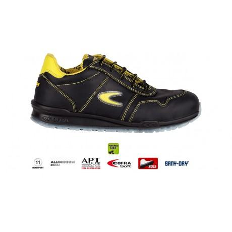Pantofi de protectie cu bombeu din aluminiu Cofra Coppi S3 SRC
