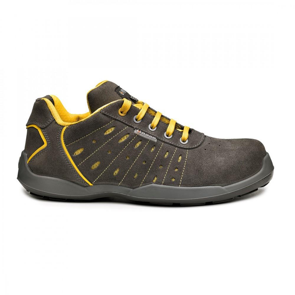 Pantofi de protectie cu bombeu nonmetalic SlimCap Base Smash S1P SRC