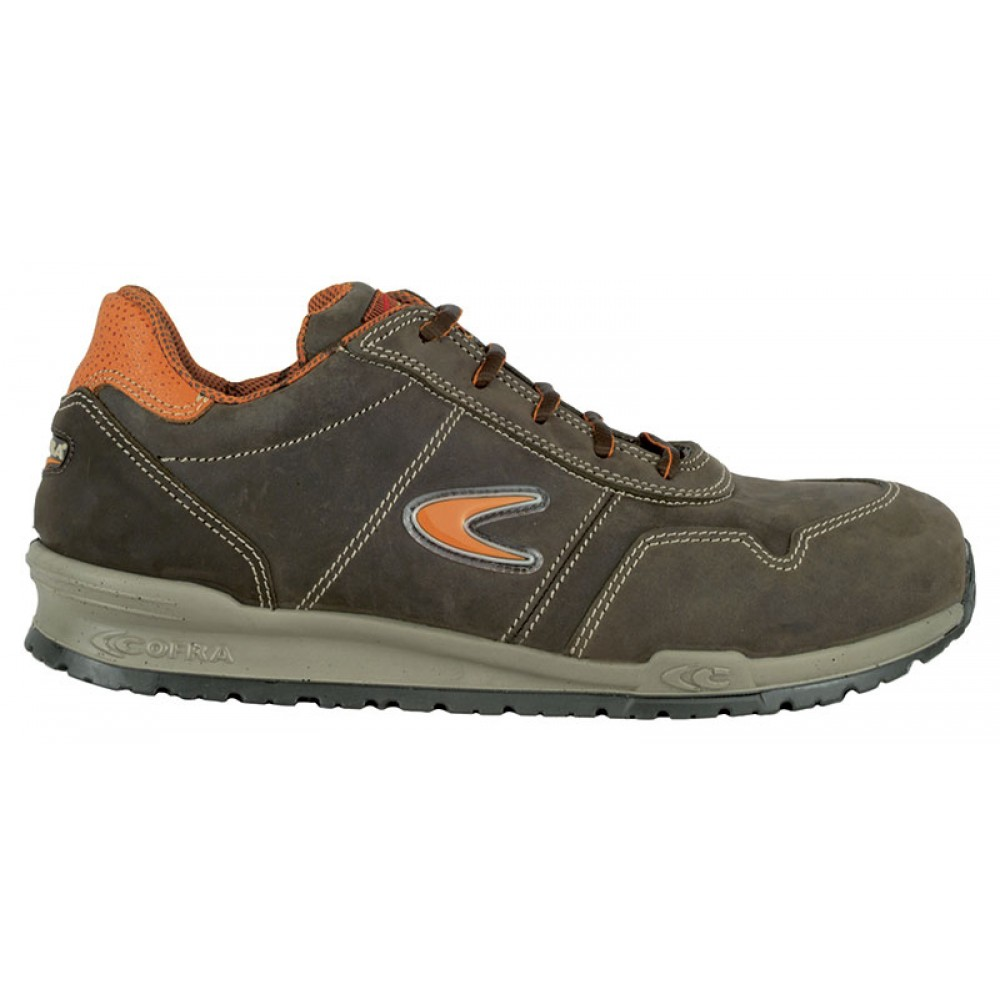 Pantofi de protectie Cofra Yashin S3 cu bombeu aluminiu si lamela