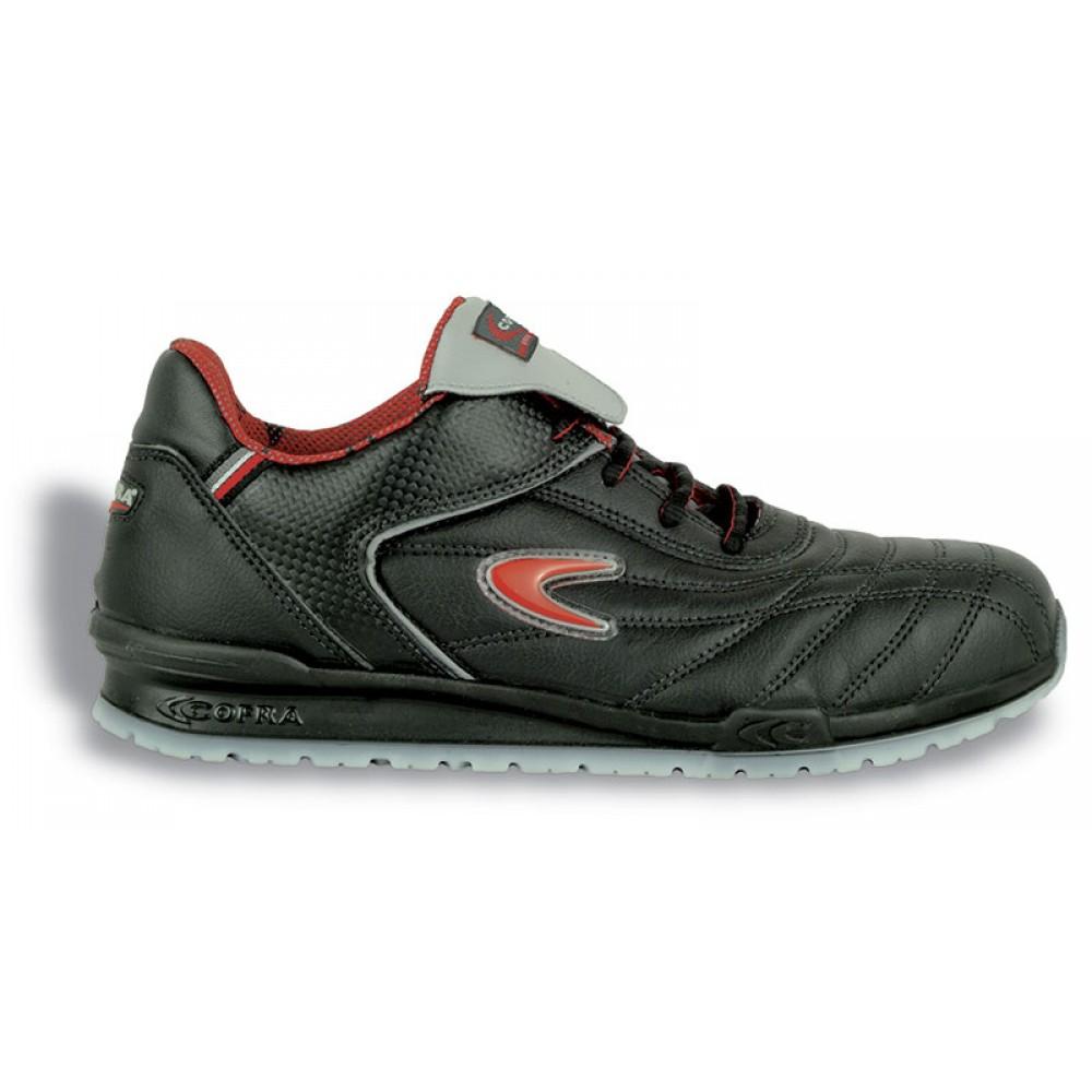 Pantofi de protectie cu bombeu din aluminiu Cofra Meazza S1P