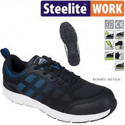 Pantofi de protectie cu bombeu metalic PORTWEST Tove S1P FT15