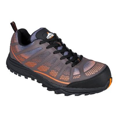 Pantofi de protectie cu bombeu fibra de sticla Portwest Low Cut Spey S1P