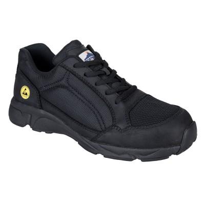 Pantofi de protectie cu bombeu fibra de sticla ESD S1P Portwest FT62
