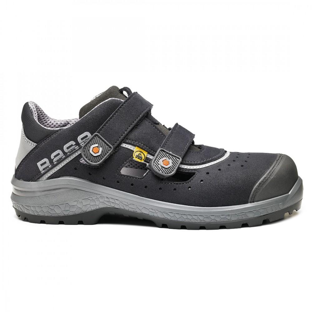 Sandale de protectie cu bombeu nonmetalic SlimCap Base Be-Fresh S1P ESD SRC