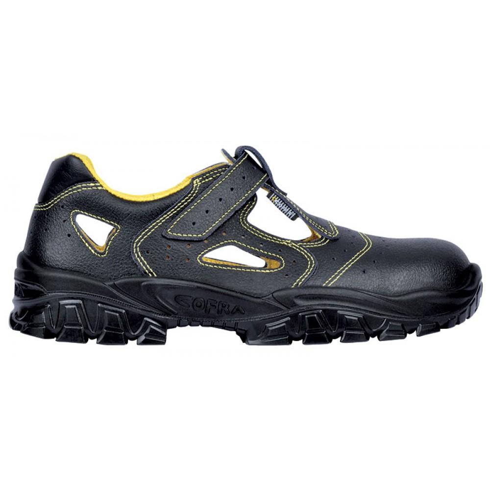 Sandale de protectie cu bombeu metalic Cofra New Don S1P