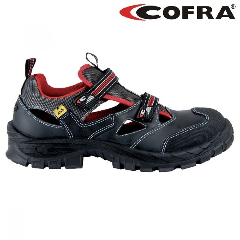Sandale de protectie cu bombeu Cofra Guttorm ESD S1P