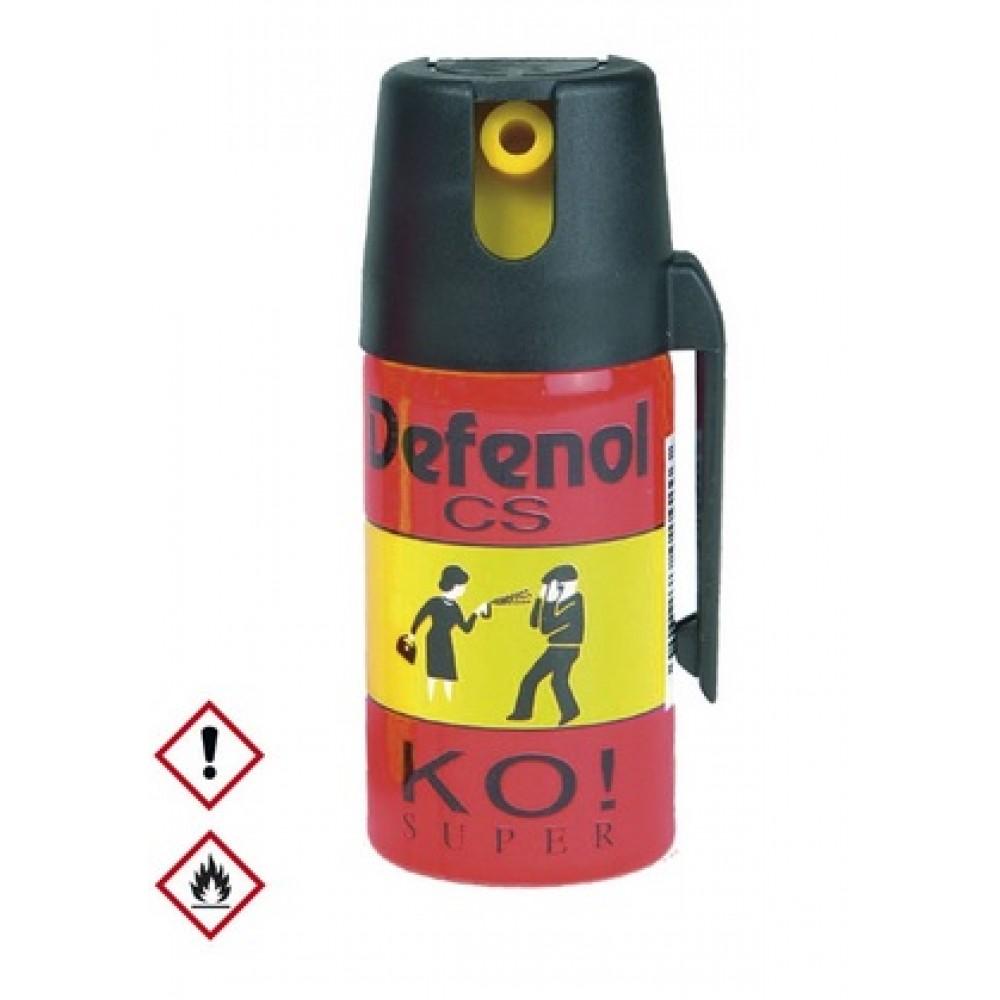 Spray iritant Klever Defenol cu gaz CS