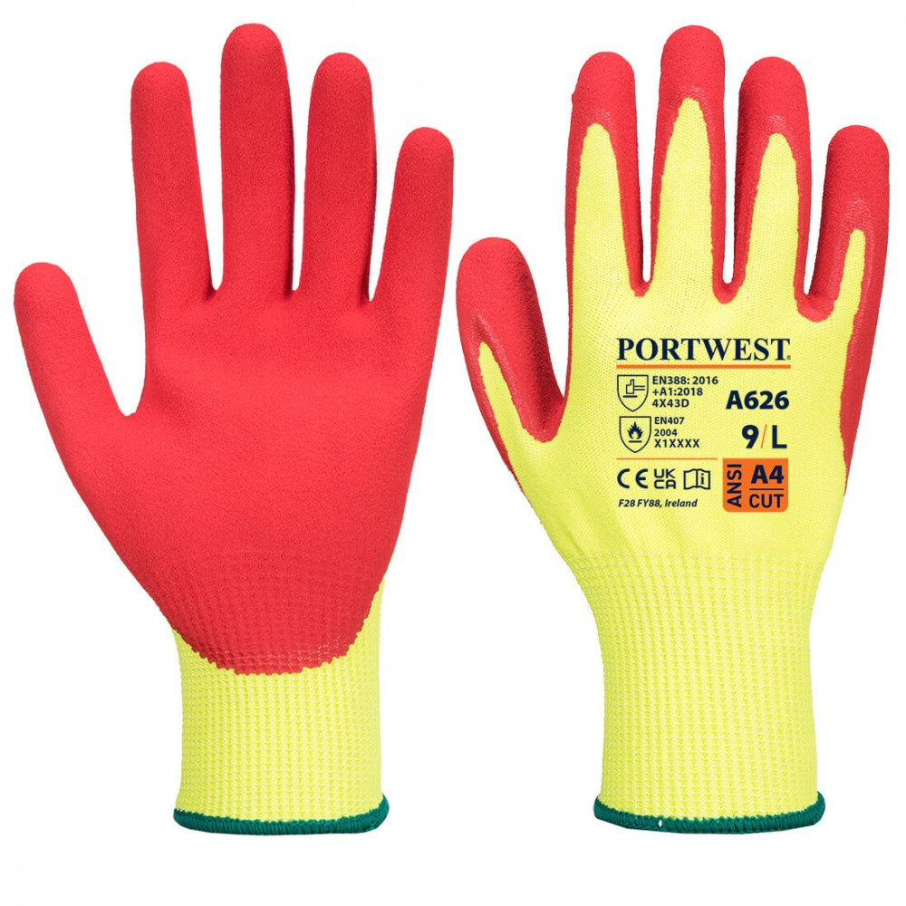 Manusi de protectie antitaiere nitril Vis-Tex HR Portwest A626