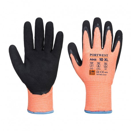 Manusi de protectie antitaiere nitril Vis-Tex Winter Portwest A646