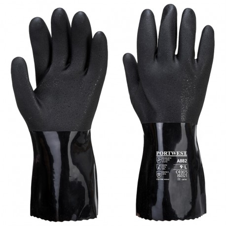 Manusi de protectie chimice Portwest ESD PVC A882