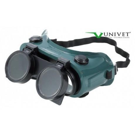 Ochelari de protectie cu lentila de sticla pentru sudori Univet Duo
