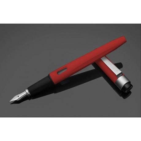 DIPLOMAT Magnum - Soft Touch - stilou cu penita M, din otel inoxidabil