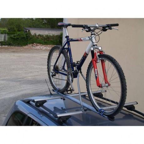 Suport auto bicicleta pentru bare transvesale Menabo Huggy