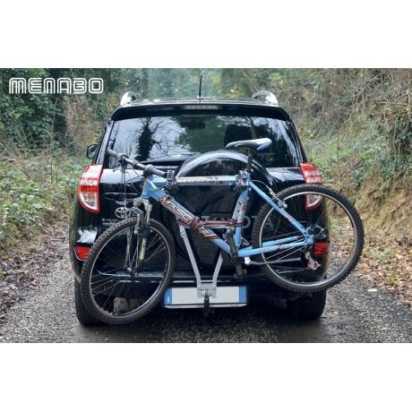 Suport auto pentru 3 biciclete cu prindere pe carlig Menabo Marius
