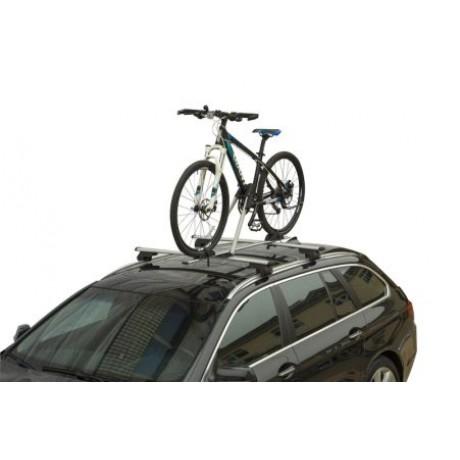 Suport auto bicicleta pentru bare transversale ALU CARFACE